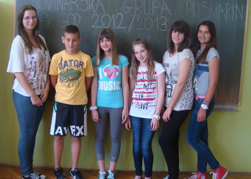 Novinari školske godine 2012./2013.