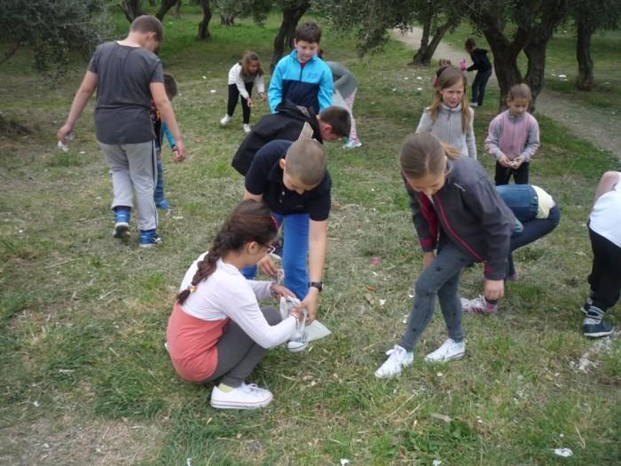 Zelena čistka – čišćenje okoliša škole