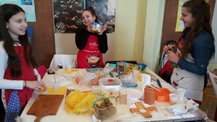 Projektni dan: Zdrava prehrana