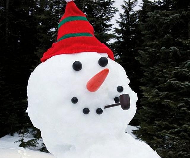 Šareni snjegović
