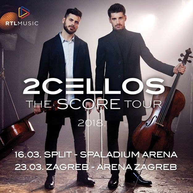 2 Cellos u Splitu