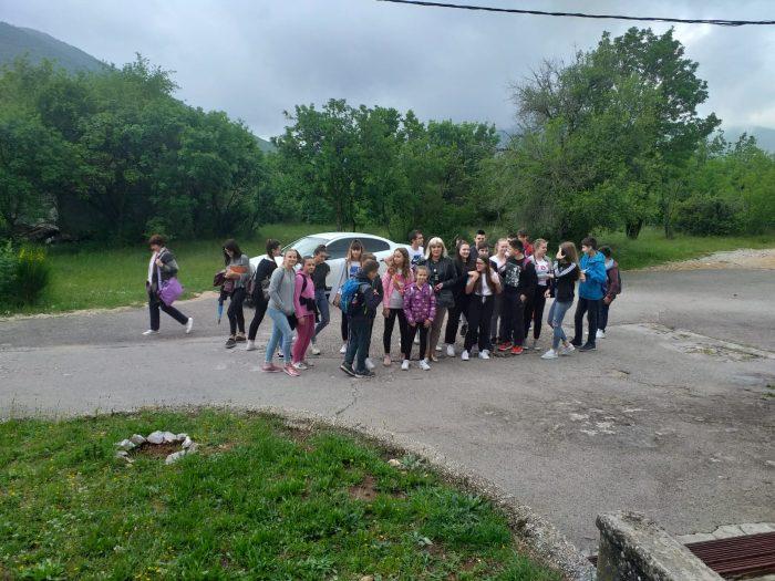 Posjet područnoj školi Prgomet